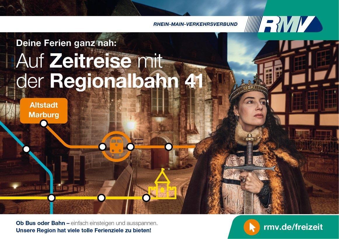 Auf Zeitreise mit der Regionalbahn 41